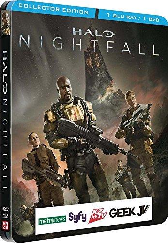 Halo The nightfall [Steelbook Combo collector Blu-ray + - Nightfall Collectors