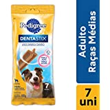 Petisco Funcional Para Cachorros Pedigree Dentastix Cuidado Oral Adultos Raças Médias 7 Sticks 180g