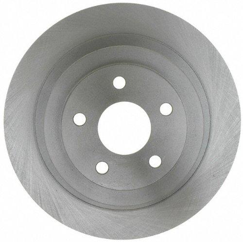 ACDelco 18A1115A Advantage Non-Coated Rear Disc Brake Rotor