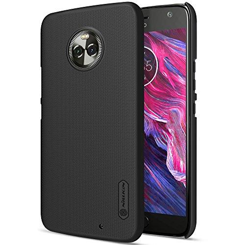 Caja del teléfono Motorola Moto X4 Funda Espalda Cover Material de protección del medio ambiente,Ultra delgada,Estilo Smartphone Funda Carcasa Case Cover Caso para Motorola Moto X4 (Oro) Negro