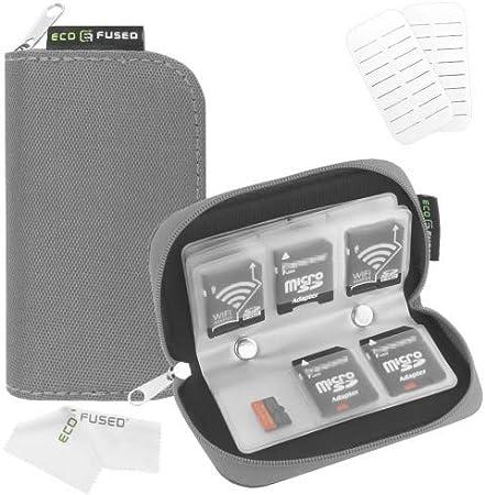 Estuche de Tarjeta de Memoria – Sirve para 22x Tarjetas SD, SDHC, Micro SD, Mini SD y 4X CF: Amazon.es: Electrónica