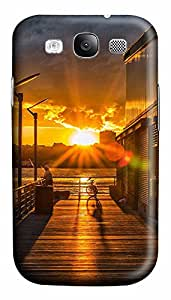 Samsung S3 Case landscapes nature sunset fishing 9 3D Custom Samsung S3 Case Cover
