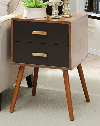 Convenience Concepts Oslo 2-Drawer End Table, Cherry Review