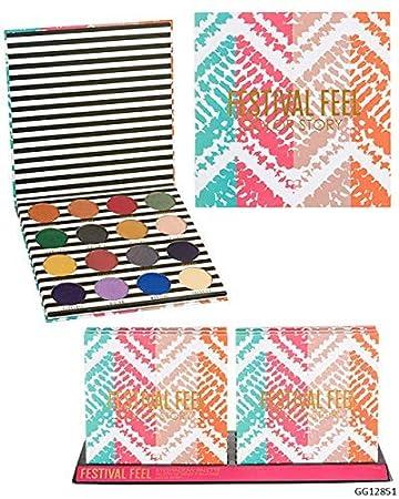 Amazon.com: Color Story - Paleta de sombra de ojos para ...