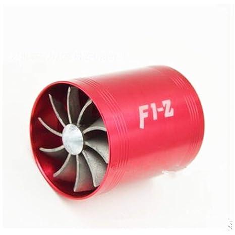 F1-z Turbo - Cargador de Coche con Doble turbina para Aire frío y Ahorro