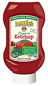 Annie's Homegrown Upside Down Ketchup, 20 Ounce (Pack of 12)
