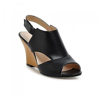 Damen Schuhe High Keilabsatz Mode Sandalen Heels Wedge Sommer 9D2WIHE