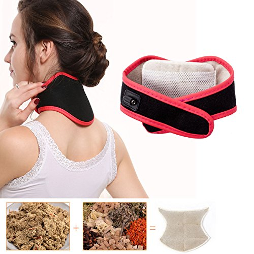 Heyeasy Electric heating Pad for neck Moxibustion Neck Guard Carbon fiber heating moxibustion hot compress effectively relieve cervical vertebra pain neck pain relief