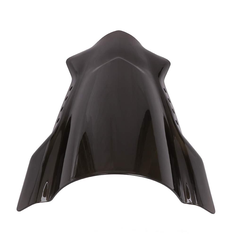 o 2,5/cm Fast Pro Universale Moto Parabrezza Set Wind Shield Parabrezza paravento Winddeflector deflettore per Motocicletta Steer Biker con 7//20,3/cm Manubrio 22/mm 25/mm 28/MM 1/1//8