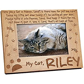 Amazon.com - I Love My Cat 5x7 Picture Frame -