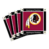 NFL Washington Redskins 4-Pack Ceramic Coasters
