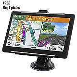 Car GPS, 7-inch Car Portable Navigation, 256-8GB Car GPS Satellite Navigator, Lifetime Map Update