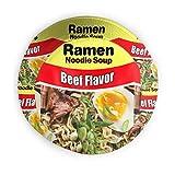 Yagi Mika Ramen Noodle Soup Beef Flavor Unisex