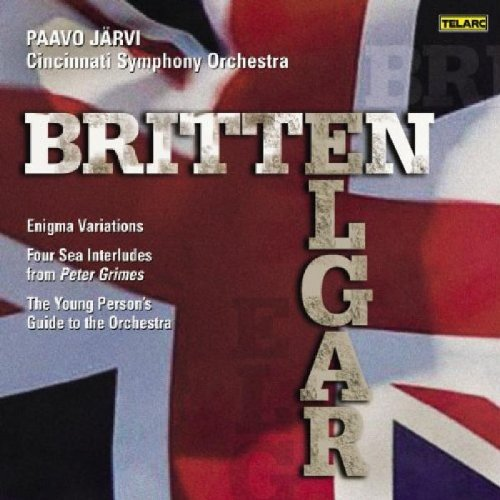 Young Person's Guide to the Orchestra / Enigma Variations / Four Sea Interludes from 'Peter Grimes' (Benjamin Britten Four Sea Interludes From Peter Grimes)