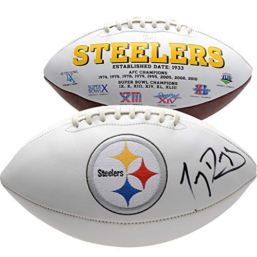 - Tony Dungy Pittsburgh Steelers Autographed White Panel Football - JSA Certified - Autographed Footballs