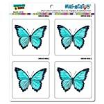 Graphics and More Butterfly Butterflies Mag-Neatos Automotive Car Refrigerator Locker Vinyl Magnet Set