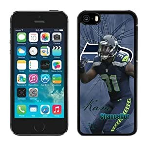 Beautiful-Diy NFL cell phone case covers Seattle Seahawks Kam Chancellor iPhone 5C case cover rVsKpd5mt67