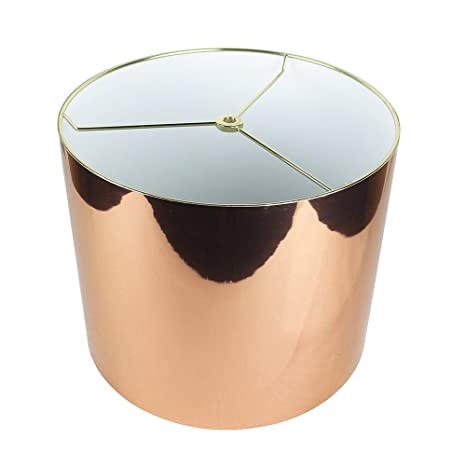Urbanest classic drum metallic lampshade 12 inch by 12 inch by 10 urbanest classic drum metallic lampshade 12 inch by 12 inch by 10 aloadofball Image collections