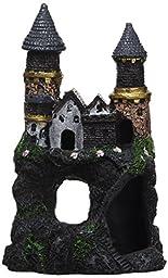 Penn-Plax Enchanted Castle Ornament, Small