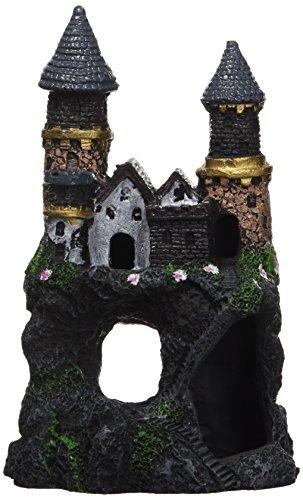Castle Large (Penn Plax Enchanted Castles Aquarium Decoration)