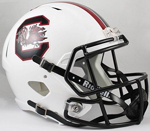 NCAA South Carolina Fighting Gamecocks Full Size Speed Replica Helmet, Red, Medium by Riddell