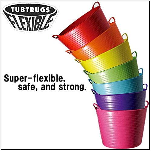 [해외]ゴリラタブトラッグス (Gorilla TUBTRUGS) 플렉서블 물통 M 사이즈 / Gorartabtrags (Gorilla tubtrugs) flexible bucket m size