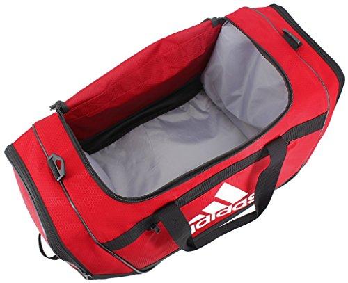 e212a8d96a adidas Defender III Duffel Bag-Power Red Black White