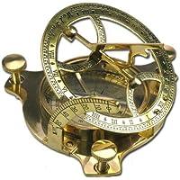 Elecsa Reloj De Sol Nautic Brújula latón 6,5cm
