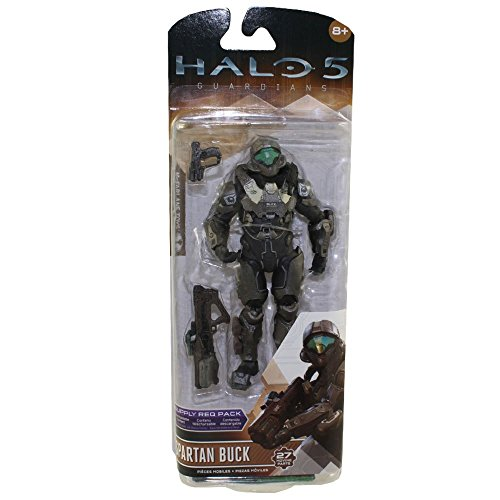 McFarlane Toys Halo 5: Guardians Series 2 Spartan Buck Actio