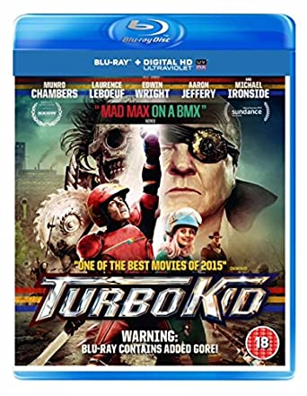 Turbo Kid Edizione: Regno Unito Reino Unido Blu-ray: Amazon.es: Cine y Series TV