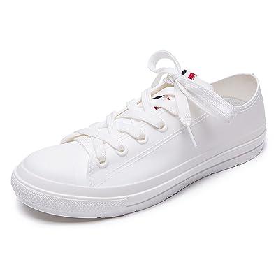 Paar Regen Stiefel, Anti-Rutsch-Kurze Rohr Stiefel, Mode Wasser Schuhe, Casual Regen Stiefel, Rutschfeste Gummischuhe (Farbe : Schwarz, Größe : 39)
