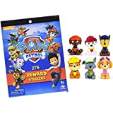 Paw Patrol Mini Figures Set of Six, Rocky, Zuma, Skye, Rubble, Marshall, Chase + Free Gift of Paw Patrol Reward Sticker Book with 276 Stickers