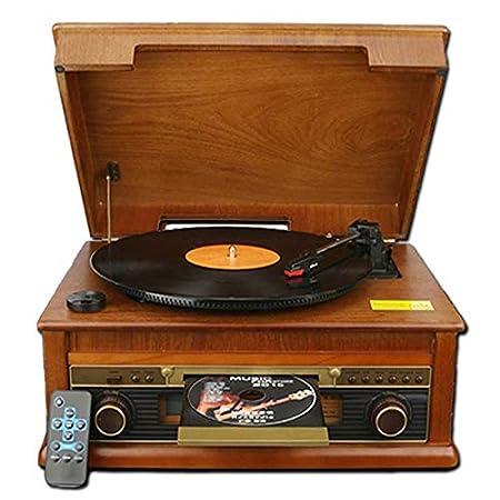 MUSIC Reproductor de Discos de Vinilo, Tocadiscos de Vinilo ...