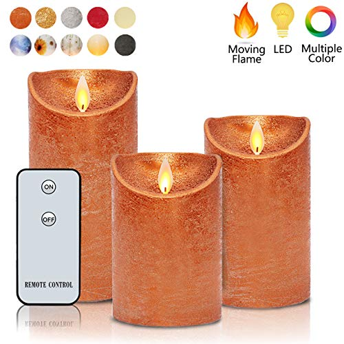 Flameless Candles Flickering LED Moving Flames 3