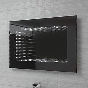 500 X 700 Mm Illuminated LED Infinity Bathroom Mirror With Motion Sensor MC131