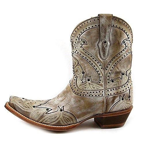Donne Cowboy Beige Stivali Delle Lucchese M4976 Da qgIwxpZv