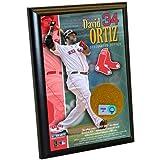 MLB Boston Red Sox David Ortiz 4-by-6-Inch Dirt Plaque
