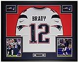 Tom Brady Autographed White New England Jersey