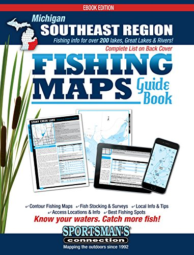 - Michigan - Southeast Region Fishing Map Guide