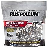 Rust-Oleum 312447 Tan Blend, 1 lb. Bag Decorative Color Chips