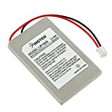 eForCity 2X 1800mAh Replacement Battery Compatible with PS3 Slim Remote Controller