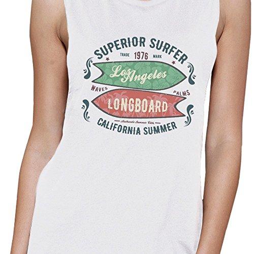 Superior Pull Angeles 365 Taille Los Manche Femme Longboard Sans Printing Unique Surfer xpCqq0wUn