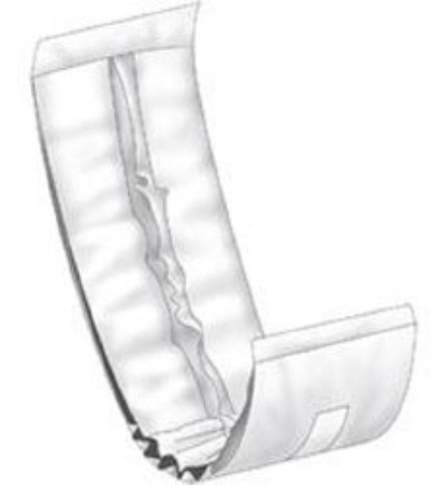 ABENA Bladder Control Pad Abri-Man Slipguard 15.75'' Length Moderate Absorbency Fluff Male (#207203, Sold Per Case)