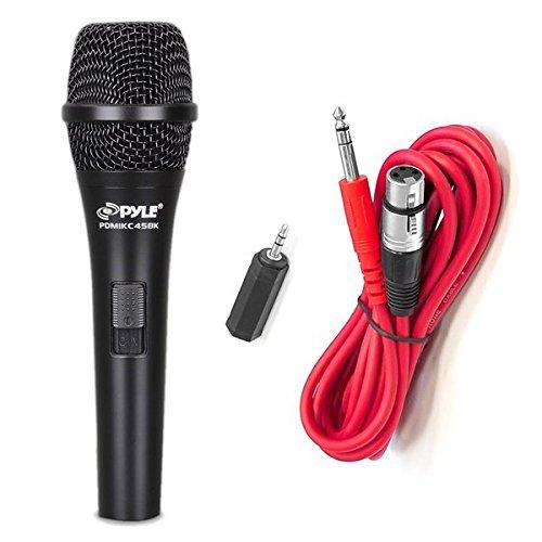 Pyle PMIKC45BK Condenser Microphone, Cardioid Sound Around