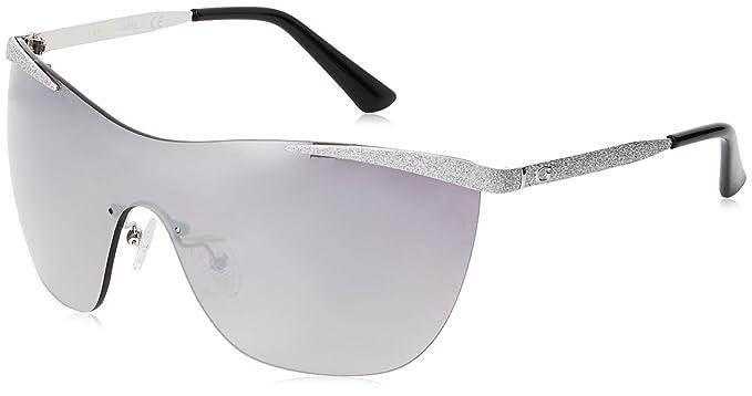 Guess Sunglasses Gu7500 10B 55 Gafas de sol, Plateado ...