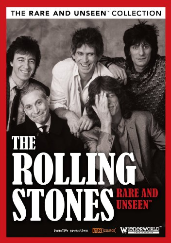 Image result for DVD Rolling Stones: Rare and Unseen