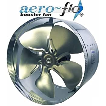 "10"" Aero Flo 650 HIGH CFMs inline Duct Air Booster Fan"