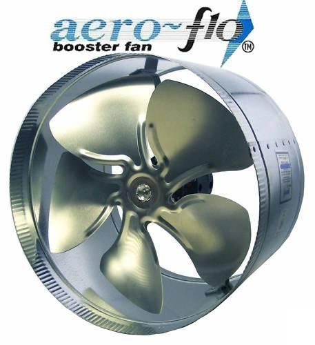 10 inch inline duct booster fan - 2