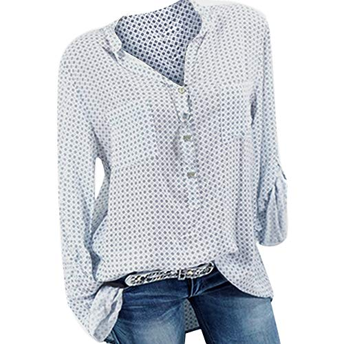 Blanc V Top Solid Chemisier Manches Col Dcontract Femme Courtes DAYLIN xaq1w6w