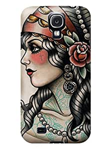 LarryToliver New Waterproof Shockproof Dirt Proof Protection Case Cover Customizable Beautiful Skull pictures for samsung Galaxy s4 #8 wangjiang maoyi